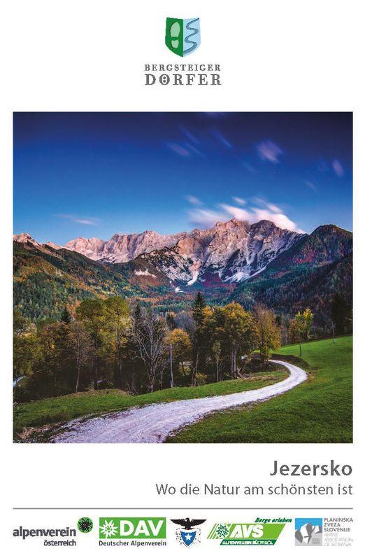 Cover of the book 'Jezersko - Wo die Natur am schönsten ist'