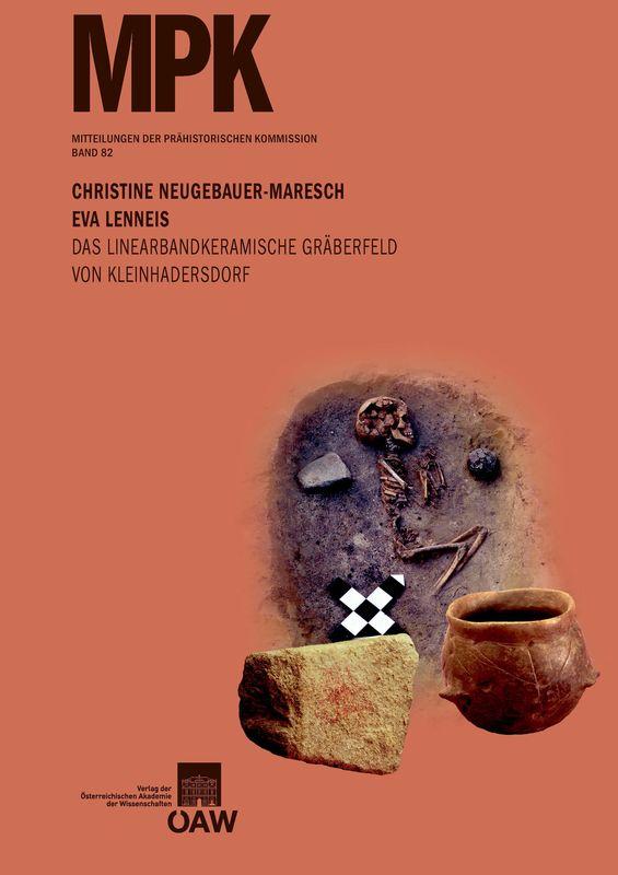 Bucheinband von 'Das linearbandkeramische Gräberfeld von Kleinhadersdorf'