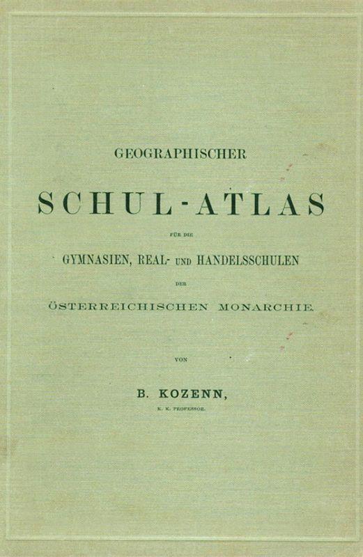 Bucheinband von 'Kozenn Schulatlas'
