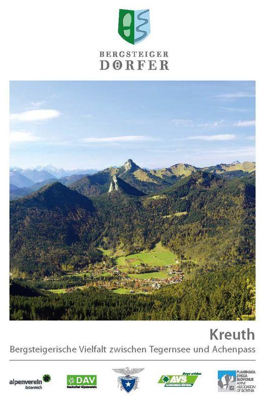 Bucheinband von 'Kreuth - Bergsteigerische Vielfalt zwischen Tegernsee und Achenpass'
