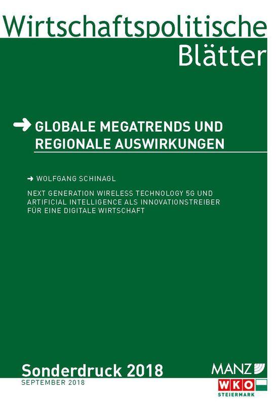 Cover of the book 'Next Generation Wireless Technology 5G und Artificial Intelligence als Innovationstreiber für eine digitale Wirtschaft'