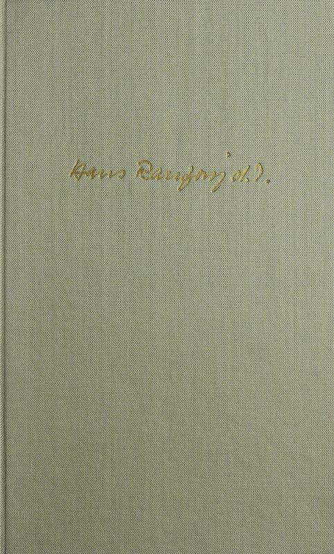 Bucheinband von 'Der Kupferstecher - Hans Ranzoni D.J.'