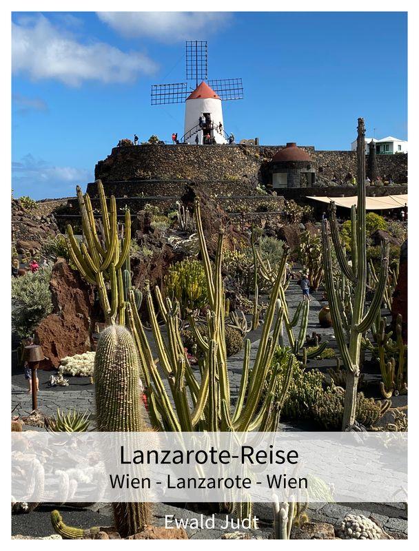 Bucheinband von 'Lanzarote Reise - Wien - Lanzarote - Wien'