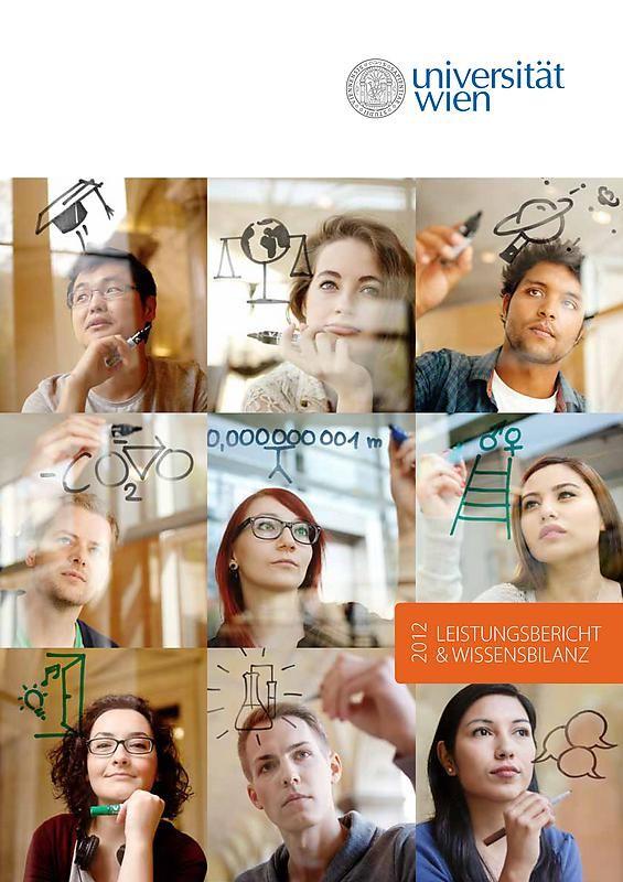 Bucheinband von 'Leistungsbericht & Wissensbilanz 2012 der Universität Wien'