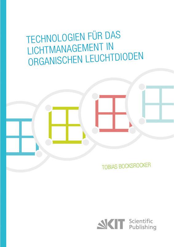 Bucheinband von 'Technologien für das Lichtmanagement in organischen Leuchtdioden'
