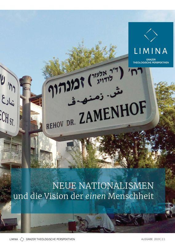 Bucheinband von 'Limina - Grazer theologische Perspektiven, Band 2:1'