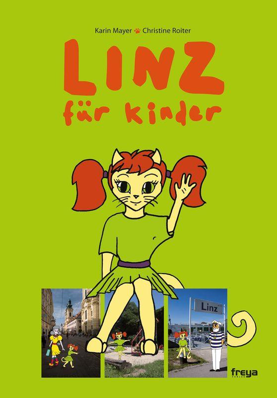 Bucheinband von 'Linz für Kinder'