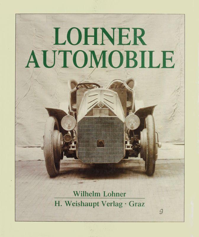 Bucheinband von 'Lohner Automobile'