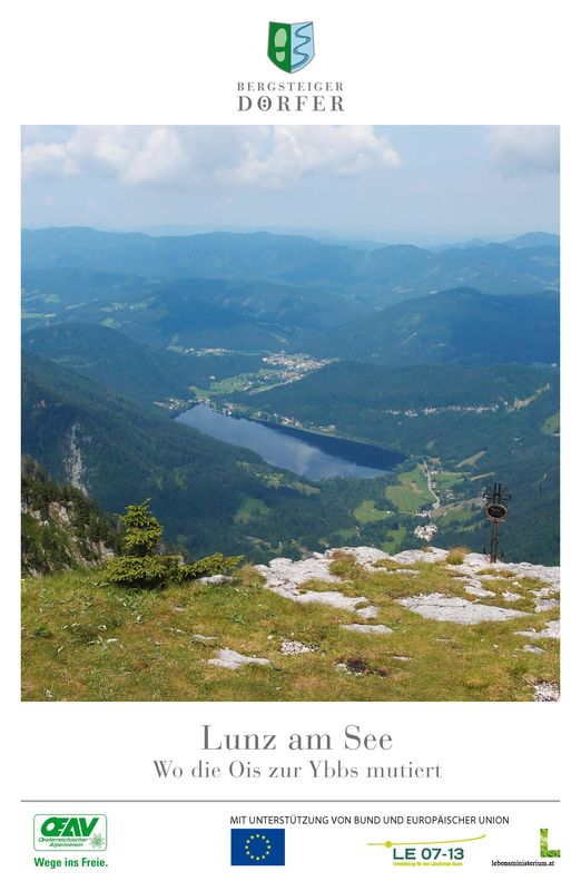 Cover of the book 'Lunz am See - Wo die Ois zu Ybbs mutiert'