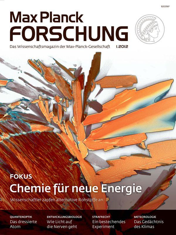 Cover of the book 'Max Planck Forschung - Das Wissenschaftsmagazin der Max-Planck-Gesellschaft, Volume 1'