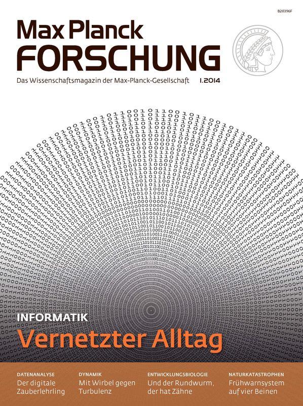 Cover of the book 'Max Planck Forschung - Das Wissenschaftsmagazin der Max-Planck-Gesellschaft, Volume 01'
