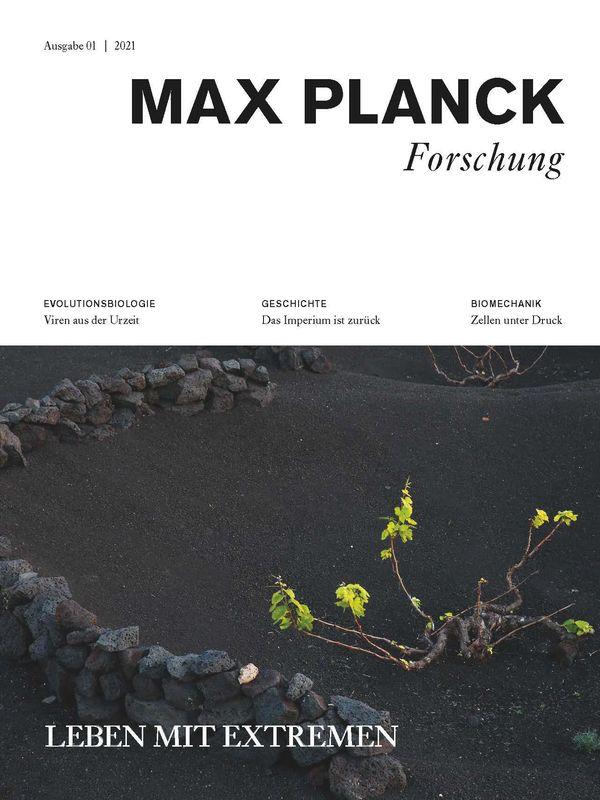 Bucheinband von 'Max Planck Forschung - Das Wissenschaftsmagazin der Max-Planck-Gesellschaft, Band 1'