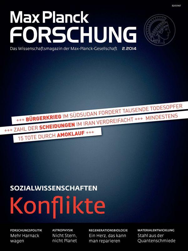 Bucheinband von 'Max Planck Forschung - Das Wissenschaftsmagazin der Max-Planck-Gesellschaft, Band 02'