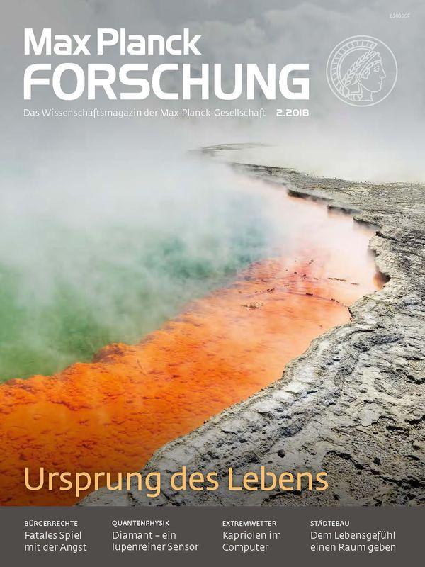 Bucheinband von 'Max Planck Forschung - Das Wissenschaftsmagazin der Max-Planck-Gesellschaft, Band 2'