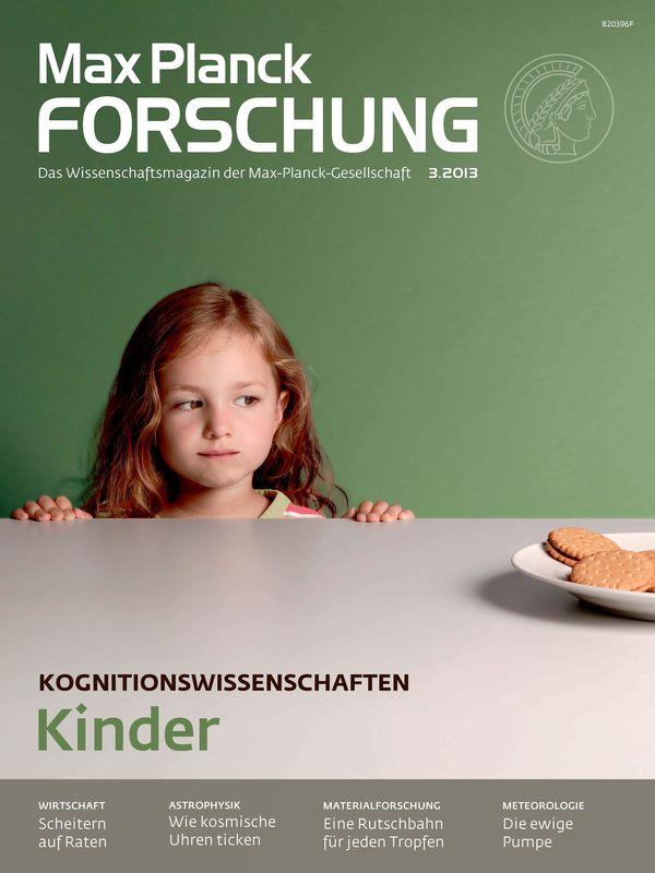 Bucheinband von 'Max Planck Forschung - Das Wissenschaftsmagazin der Max-Planck-Gesellschaft, Band 3'