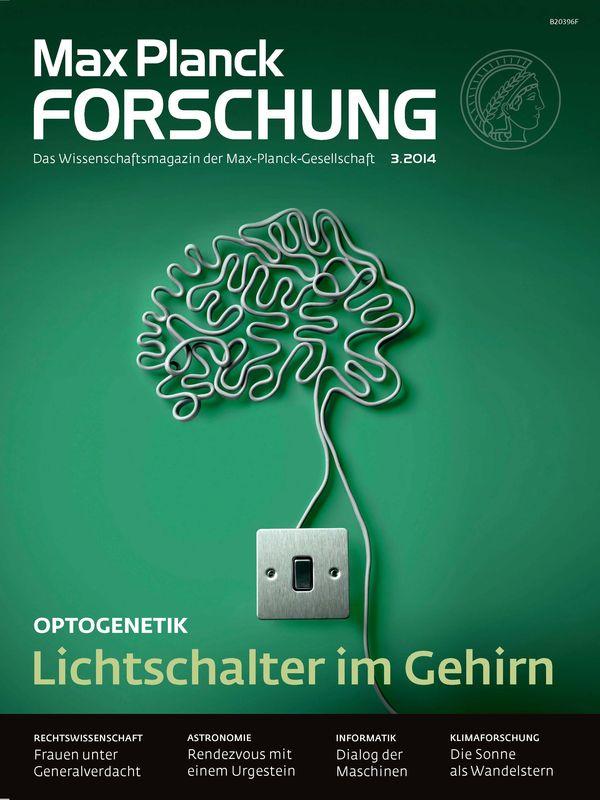 Bucheinband von 'Max Planck Forschung - Das Wissenschaftsmagazin der Max-Planck-Gesellschaft, Band 03'