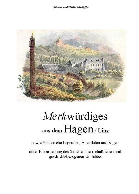 Bucheinband von 'Merkwürdiges aus dem Hagen  - Sowie historische Legenden, Anekdoten und Sagen '