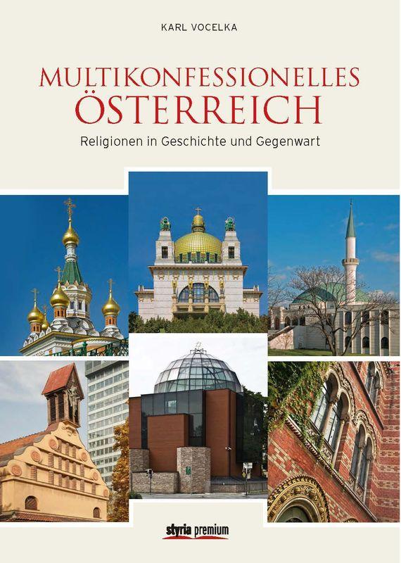 Bucheinband von 'Multikonfessionelles Österreich - Religionen in Geschichte und Gegenwart'