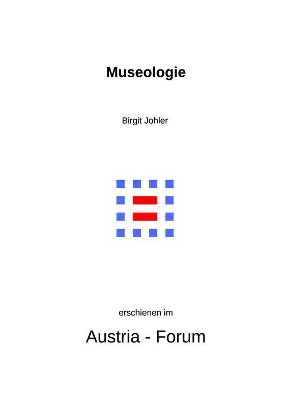 Bucheinband von 'Museologie - Skizzen zu einer Wissenschaft und ihren Berufsfeldern'