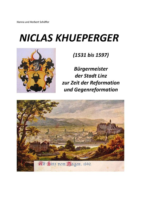 Bucheinband von 'Niclas Khueperger - (1531 bis 1597)'
