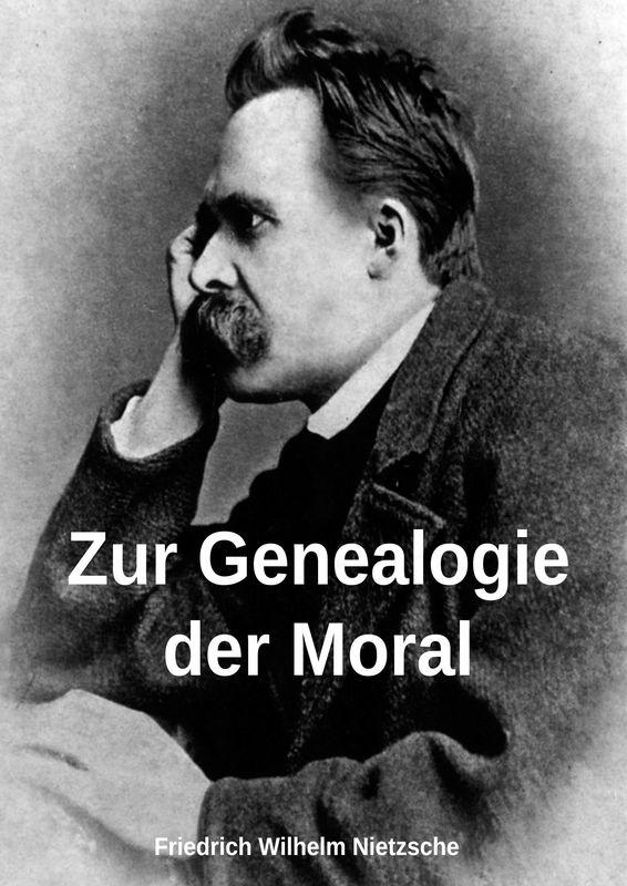 Bucheinband von 'Zur Genealogie der Moral'