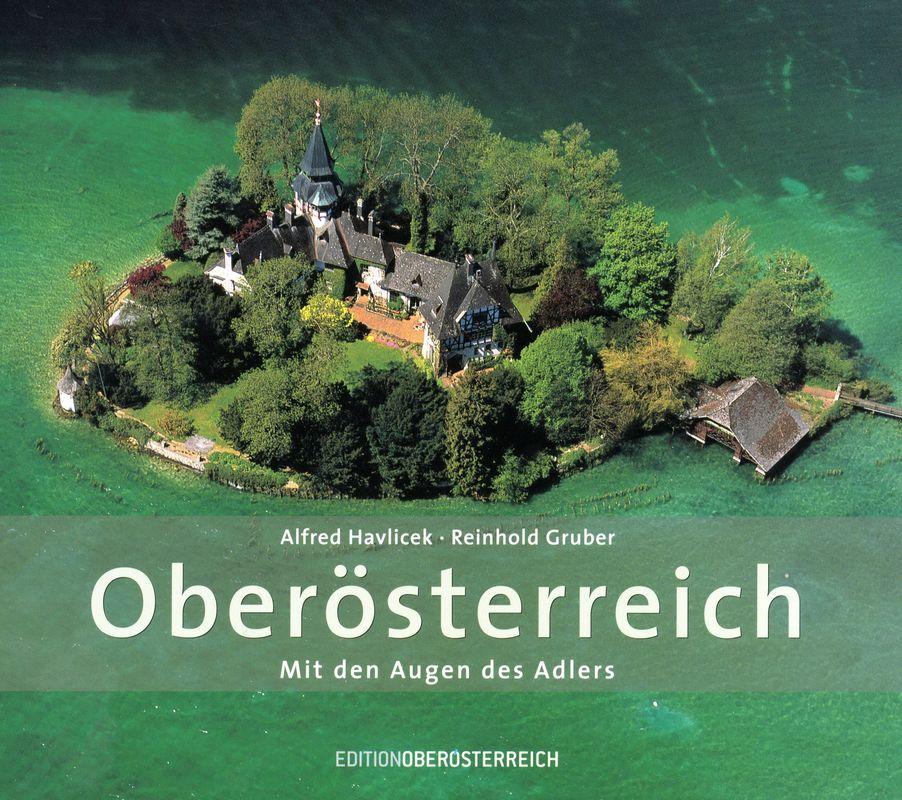 Bucheinband von 'Oberösterreich - Mit den Augen des Adlers'