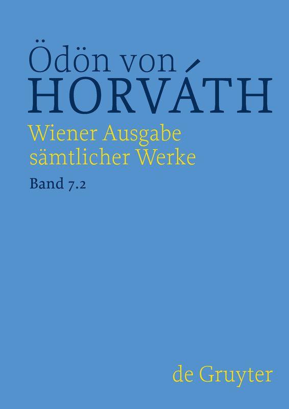 Bucheinband von 'Wiener Ausgabe sämtlicher Werke - Historisch-kritische Edition, Band 2'