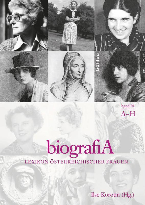 Bucheinband von 'biografiA. - Lexikon österreichischer Frauen, Band 1, A – H'