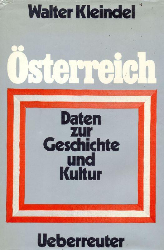 Bucheinband von 'Österreich - Daten zur Geschichte und Kultur'