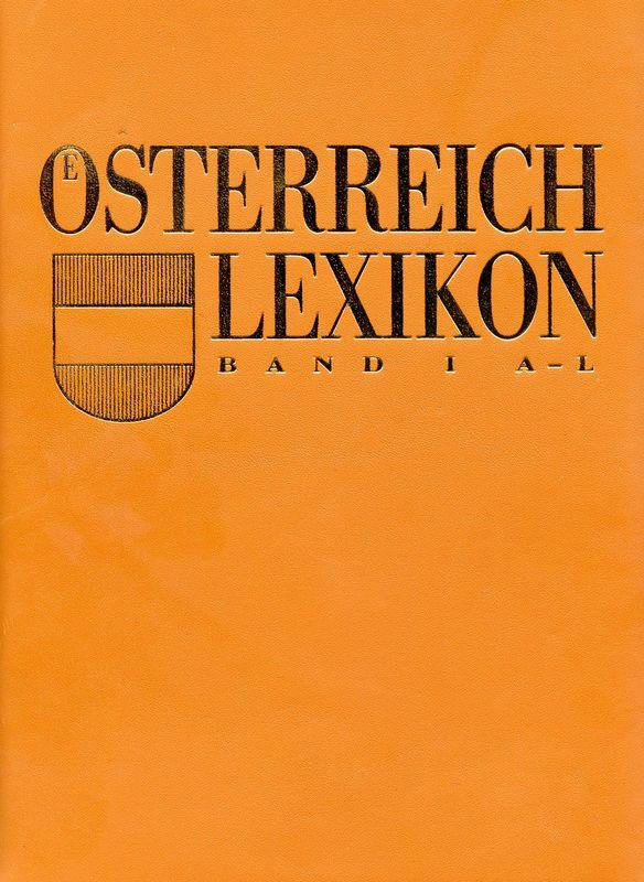 Bucheinband von 'Österreich Lexikon - Buchstabe A-L, Band 1'