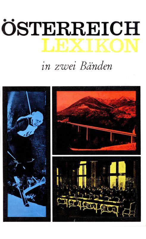 Bucheinband von 'Österreich Lexikon - Buchstabe L-Z, Band 2'