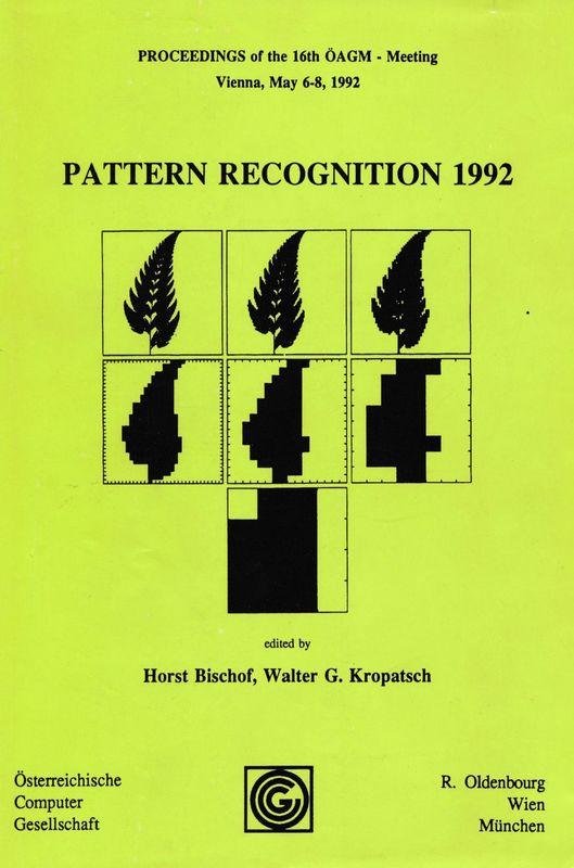 Bucheinband von 'Pattern Recognition 1992'