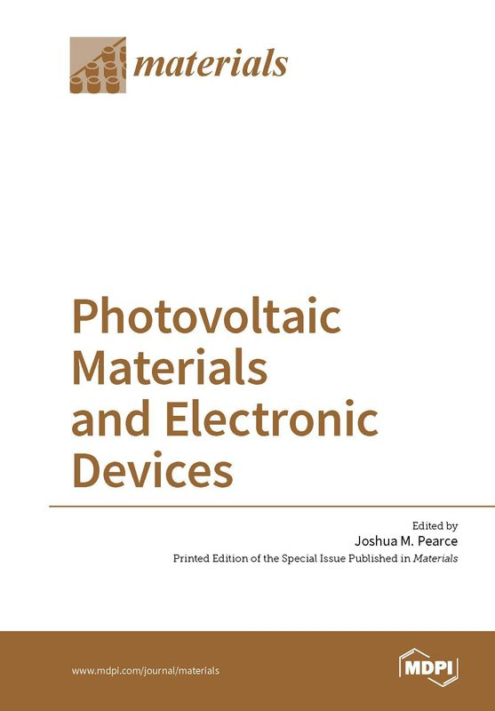 Bucheinband von 'Photovoltaic Materials and Electronic Devices'
