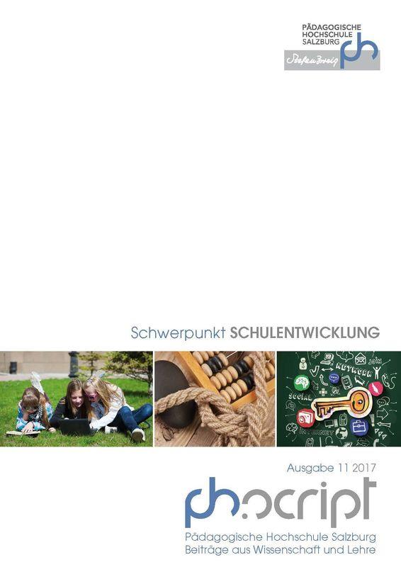 Bucheinband von 'ph.script - Beiträge aus Wissenschaft und Lehre, Band 11/2017'