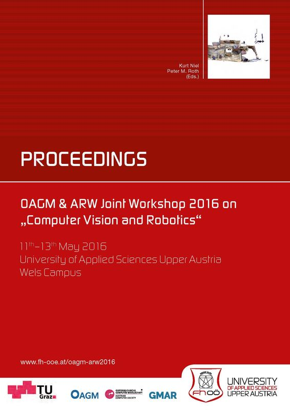 """Cover of the book 'Proceedings - OAGM & ARW Joint Workshop 2016 on """"Computer Vision and Robotics""""'"""