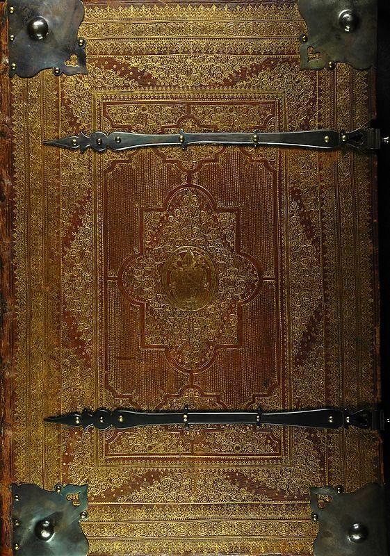 Bucheinband von 'Psalterium Benedictinum ad usum Monasteril S. Lamberti - Psalmensammlung der Benediktiner zur Benutzung des Stiftes Sankt Lambrecht'