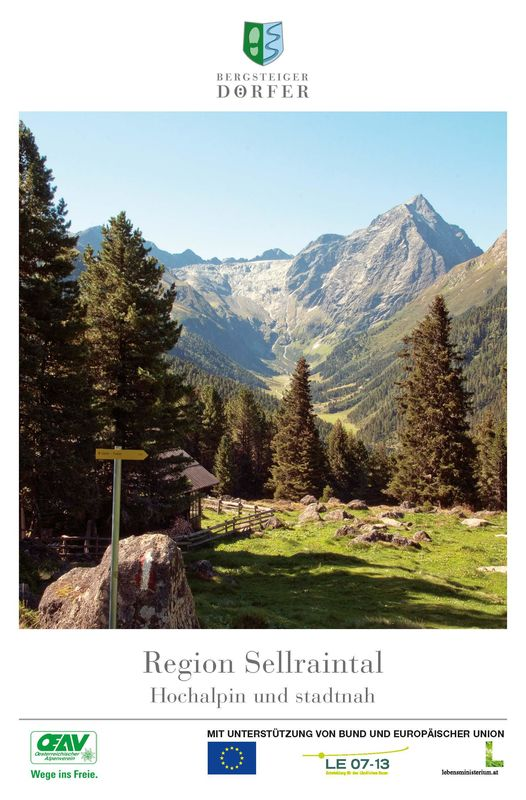 Bucheinband von 'Region Sellraintal - Hochalpin und stadtnah'