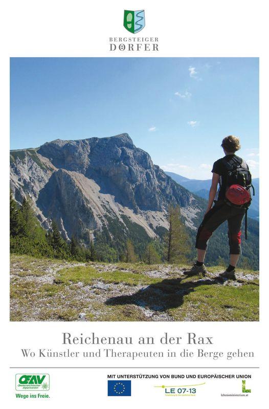 Bucheinband von 'Reichenau an der Rax - Wo Künstler und Therapeuten in die Berge gehen'