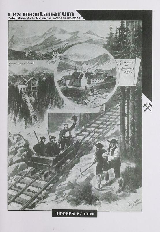 Bucheinband von 'res montanarum - Zeitschrift des Montanhistorischen Vereins für Österreich, Band 2'