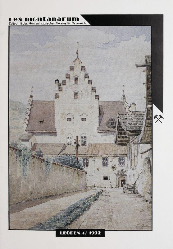 Bucheinband von 'res montanarum - Zeitschrift des Montanhistorischen Vereins für Österreich, Band 4'