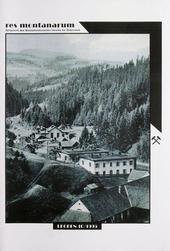 Bucheinband von 'res montanarum - Zeitschrift des Montanhistorischen Vereins für Österreich, Band 10'