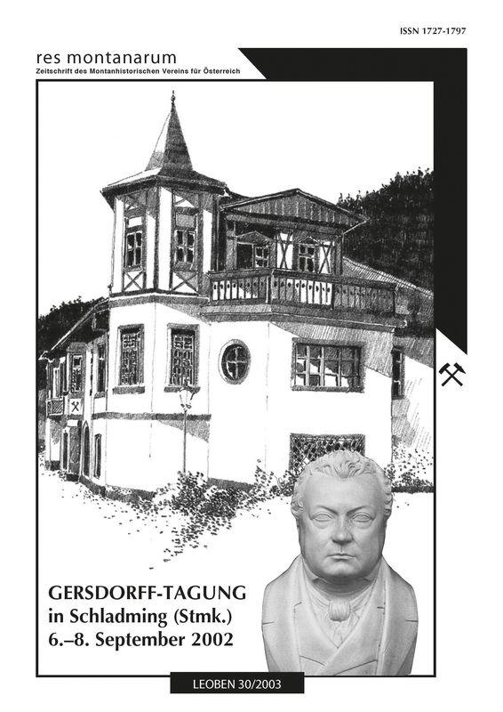 Bucheinband von 'res montanarum - Zeitschrift des Montanhistorischen Vereins für Österreich, Band 30'