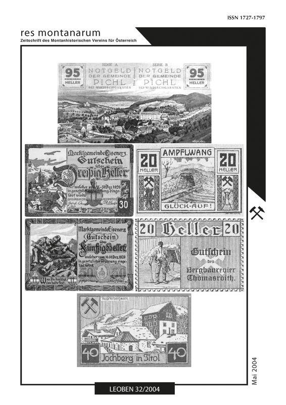 Bucheinband von 'res montanarum - Zeitschrift des Montanhistorischen Vereins für Österreich, Band 32'