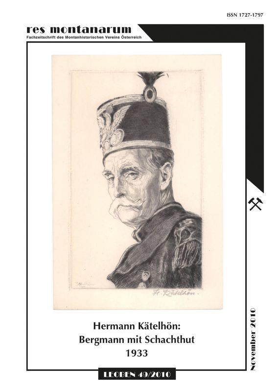 Bucheinband von 'res montanarum - Zeitschrift des Montanhistorischen Vereins für Österreich, Band 49'