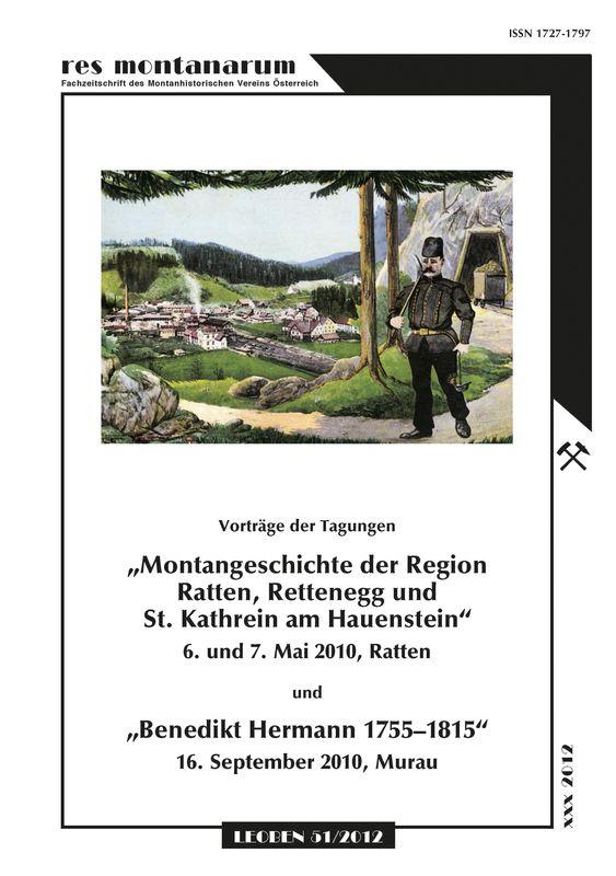 Bucheinband von 'res montanarum - Zeitschrift des Montanhistorischen Vereins für Österreich, Band 51'