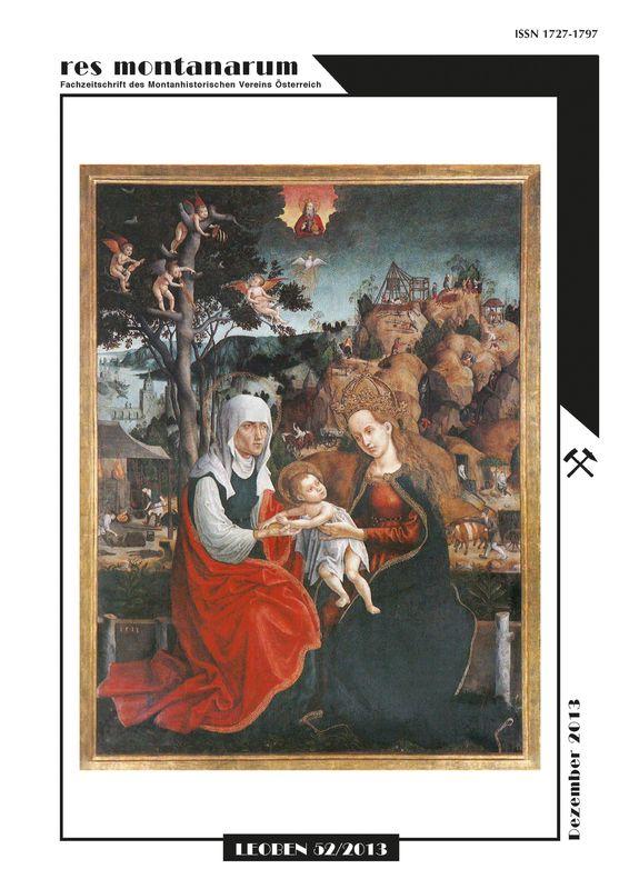 Bucheinband von 'res montanarum - Zeitschrift des Montanhistorischen Vereins für Österreich, Band 52'