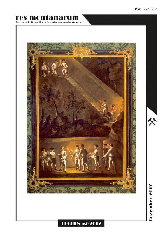 Bucheinband von 'res montanarum - Zeitschrift des Montanhistorischen Vereins für Österreich, Band 57'