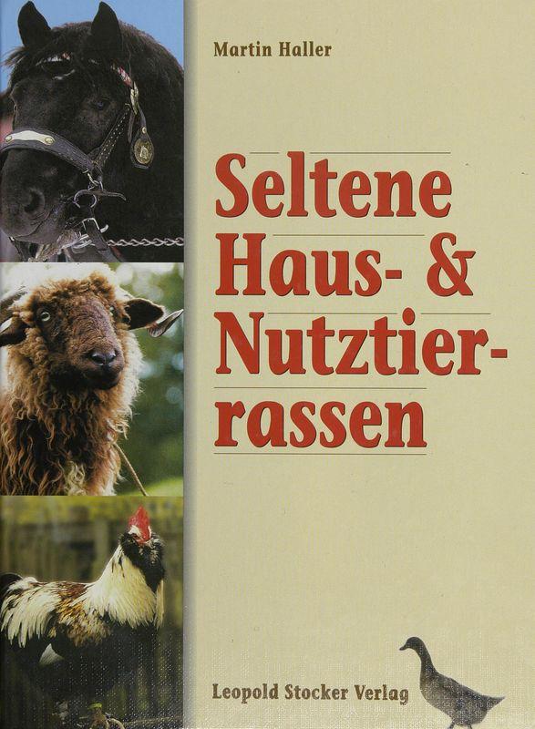 Bucheinband von 'Seltene Haus- und Nutztierrassen'