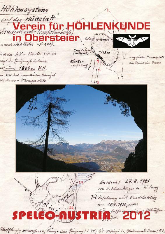 Bucheinband von 'Speleo-Austria 2012 - Tagungsband anlässlich 100 Jahre organisierte Höhlenforschung im Steirischen Salzkammergut'