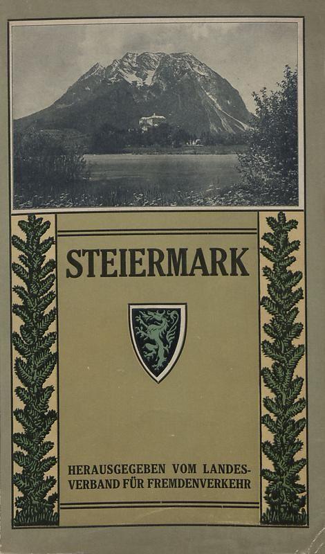 Bucheinband von 'Steirisches Verkehrsbuch'